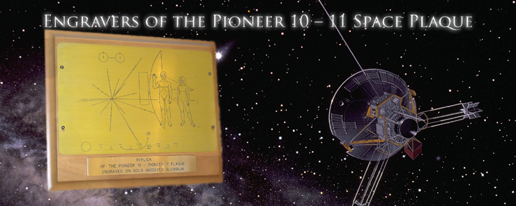 Pioneer 10-11 Replica Plaque