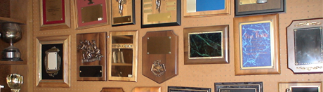 Wall of Engraved Plaques